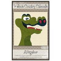Applique Pack -Alligator Precut Fused