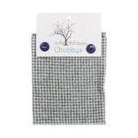 Wool Chubbys - Grey Houndstooth