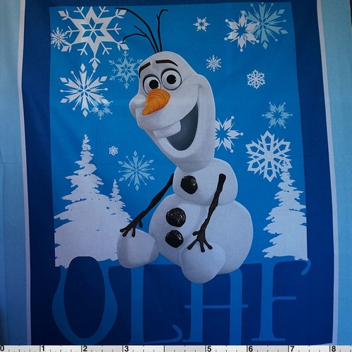Frozen Sisters Skating - Olaf Panel